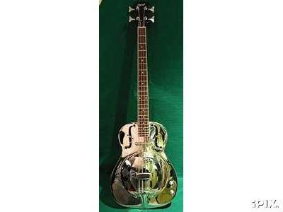 Washburn AB20 Acoustic Bass Guitar. Resonator Bass Guitar
